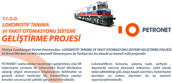 TCDD Locomotive Recognition and Fuel Oil Automation System